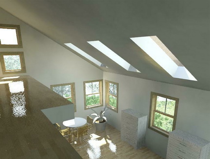 21 Edith Lane - Rendering - Garage Loft