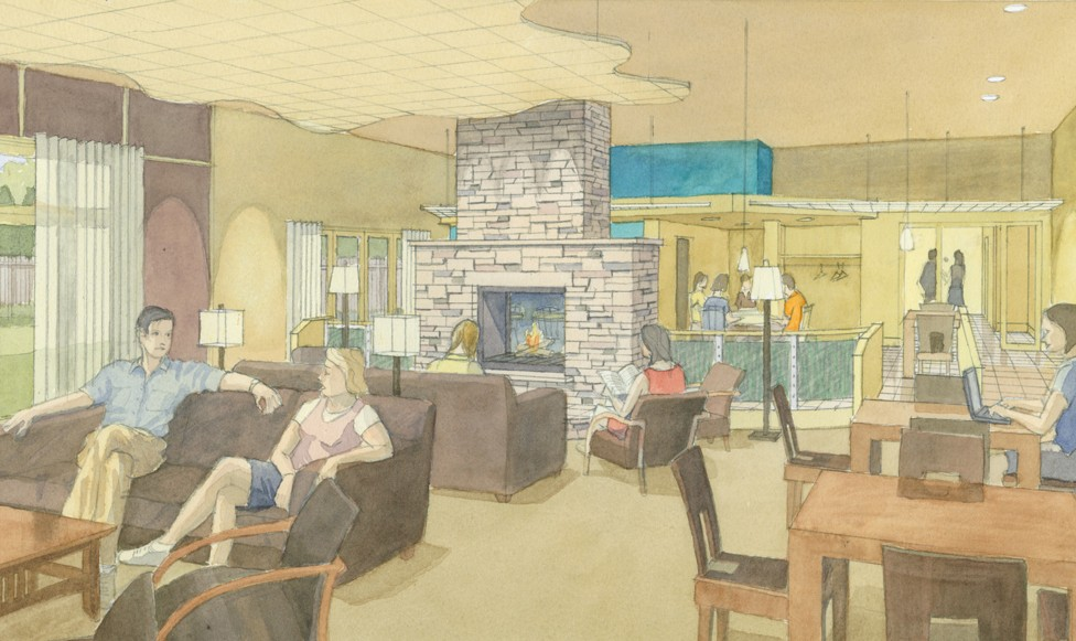 Folly Hill Water Color Rendering